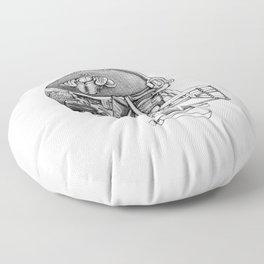 Football Helmet Floor Pillow