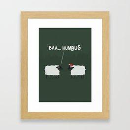 BAA... Humbug Framed Art Print