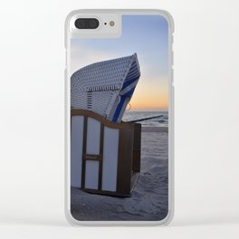 place to relax Clear iPhone Case