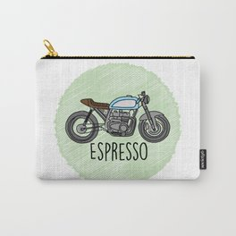 Espresso - Cafe Racer Carry-All Pouch