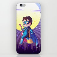 dc comics iPhone & iPod Skins featuring Super DC by Sunshunes