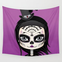 She's In Parties Wall Tapestry