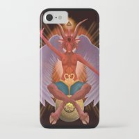 baphomet iPhone & iPod Cases featuring The Baphomet by 5th Aeon