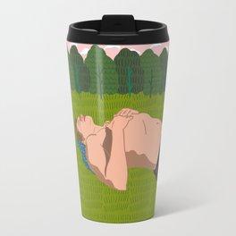 Sheep's Meadow Dreaming Travel Mug