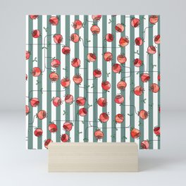 berry flower Mini Art Print