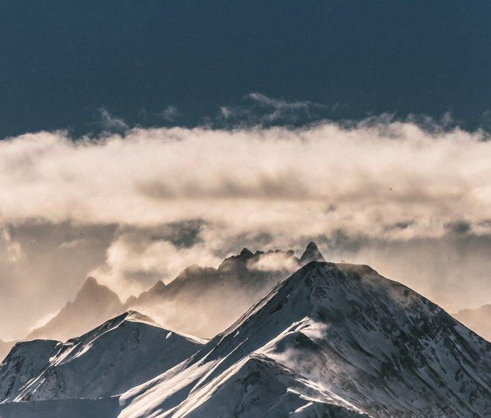 Mountains II #landscape photography Metal Travel Mug