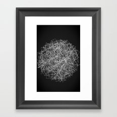 Sphere of Strings Framed Art Print