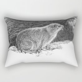 Dassie. Rectangular Pillow