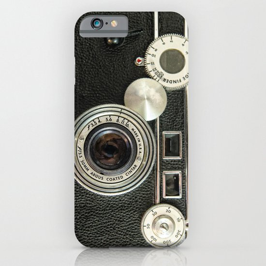 Vintage Range finder camera. iPhone & iPod Case