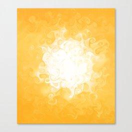 Liquid Sun Canvas Print