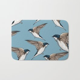 Birds Hipster Bath Mat