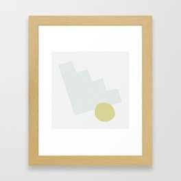 Shape Study #2 - Stairstep Framed Art Print