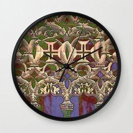 Gothic tracery. Batalha Wall Clock