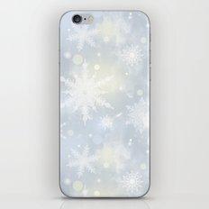Snowflakes. iPhone Skin