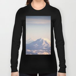 Mountain Peaks from Above Long Sleeve T-shirt