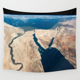 The Nile and the Sinai, to Israel and beyond. One sweeping glance of human history Wall Tapestry