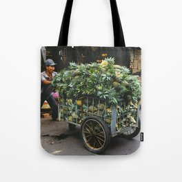 Pineapples in the Market, Hoi An, Vietnam Tote Bag