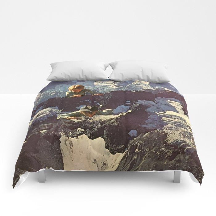 Mountain Kid Pranksters Comforters