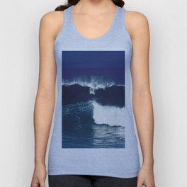 the wave Unisex Tank Top