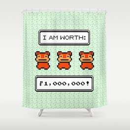 SLOWPOKETAIL Shower Curtain