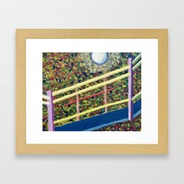It's the Third Level Stairway to Your Right Framed Art Print