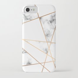 Marble Geometry 054 iPhone Case
