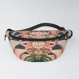 Bouquet. 3D Abstract Fractal Design Fanny Pack