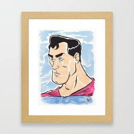 Superman Framed Art Print