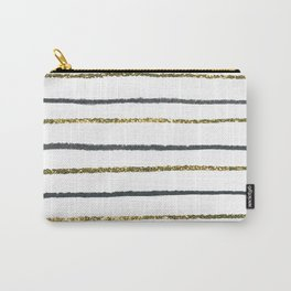 Golden Black Carry-All Pouch