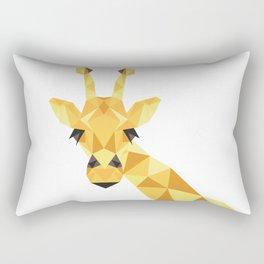 a giraffe Rectangular Pillow