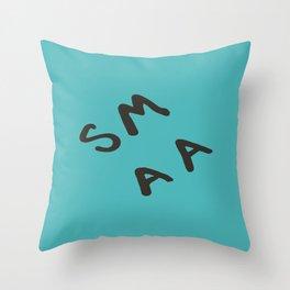 Senior Scribe SM AA Throw Pillow