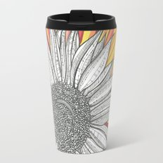 Sunflower Burst Travel Mug