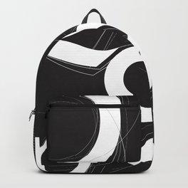 Gill Sans Poster Design Backpack