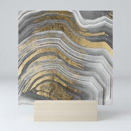 Abstract paint modern Mini Art Print