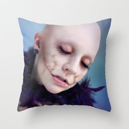 beauty. Throw Pillow