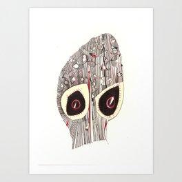 Mask Art Print