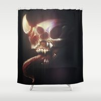 nightmare Shower Curtains featuring Nightmare by Rudolf Odobasic