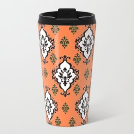 Orange Villa Travel Mug