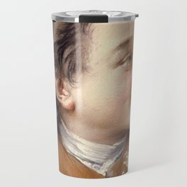 "François Boucher ""Boy with a Carrot"" Travel Mug"