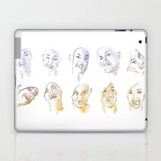 Dodger Faces Laptop & iPad Skin
