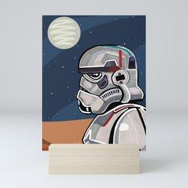"""Stormtrooper"" by Domonique Brown Mini Art Print"