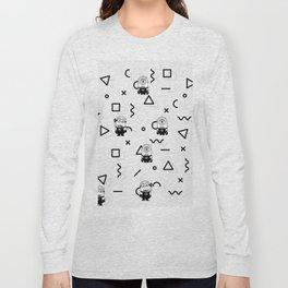 Memphis Minion Style Long Sleeve T-shirt