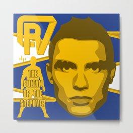 Christiano Ronaldo - The Sultan of the Stepover Metal Print
