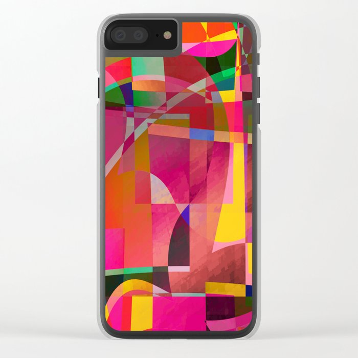 simulated experience Clear iPhone Case