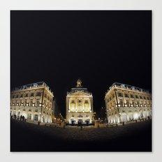 Bordeaux la nuit Canvas Print