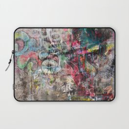 Grunge wall in Brixton Laptop Sleeve