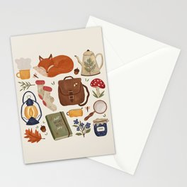 Woodland Wanderings Stationery Cards