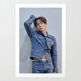 Jimin / BTS Art Print