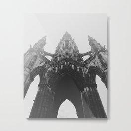 Scott Monument, Edinburgh Metal Print