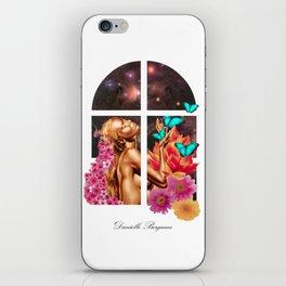 Universe Lady iPhone Skin